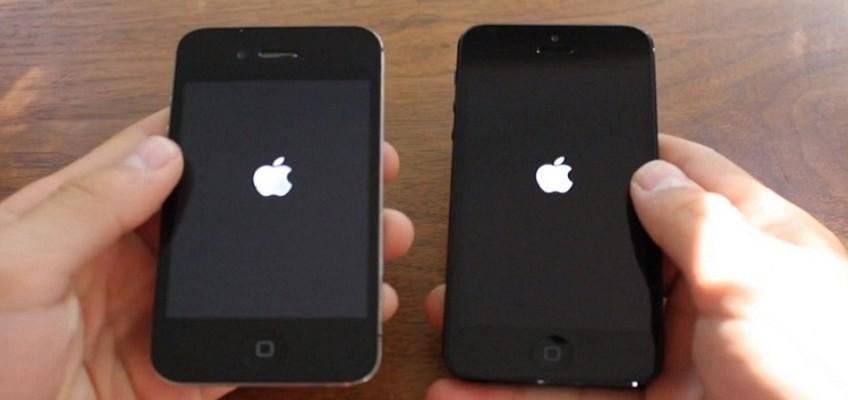 iPhone se congela en el logo de apple